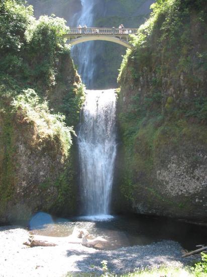 Multnomah Falls Columbia river